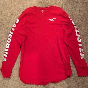 Men's XXL Hollister long sleeve t-shirt